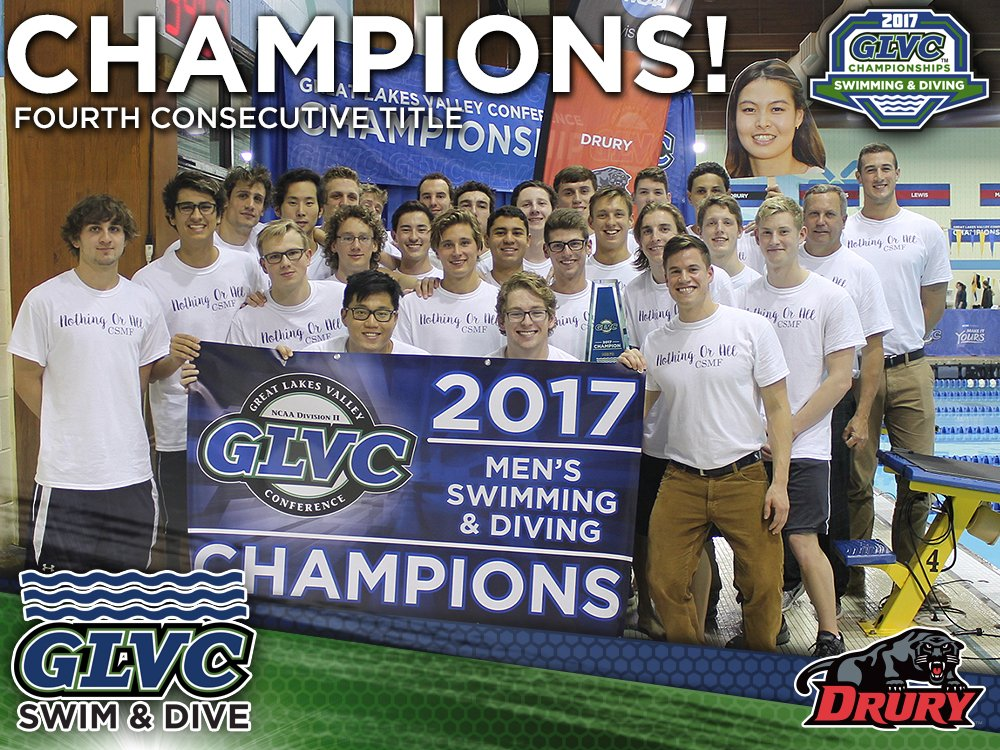 Drury swimming and diving will compete at GLVC National Championships next week
