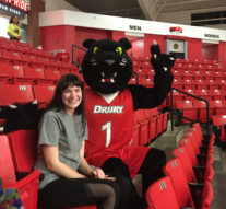 Pouncer the Panther leads athletics into season: Tells of legacy, importance and duties at university events